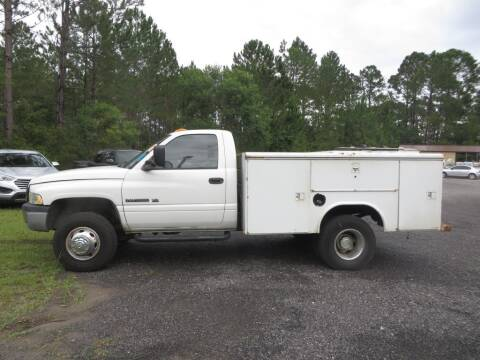 2002 Dodge Ram Chassis 3500 for sale at Ward's Motorsports in Pensacola FL