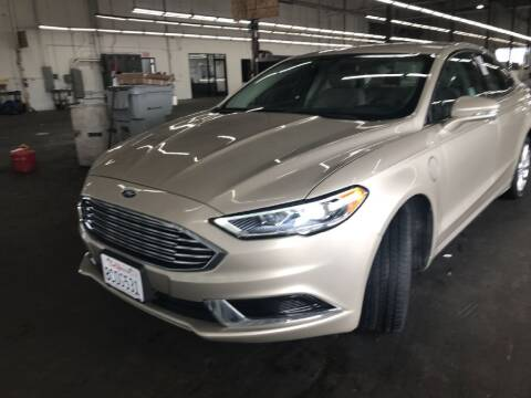 2018 Ford Fusion Energi for sale at CENTURY MOTORS Bakersfield in Bakersfield CA