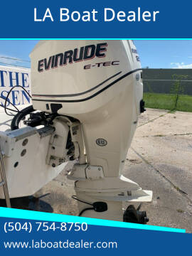 2010 Evinrude E-Tec 250 for sale at LA Boat Dealer in Metairie LA