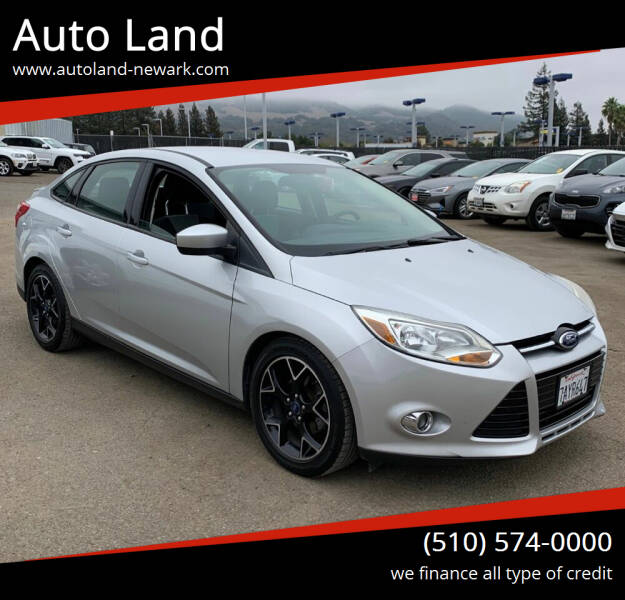 2012 Ford Focus for sale at Auto Land in Newark CA