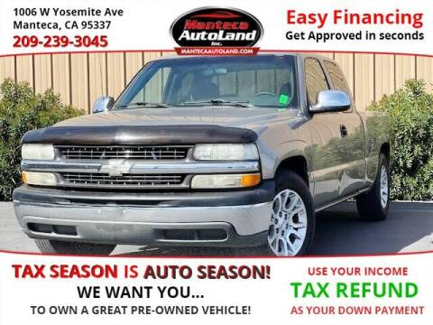 2002 Chevrolet Silverado 1500 for sale at Manteca Auto Land in Manteca CA