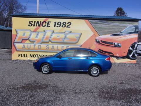 2011 Ford Focus for sale at Pyles Auto Sales in Kittanning PA