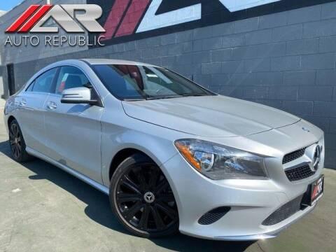 2017 Mercedes-Benz CLA for sale at Auto Republic Fullerton in Fullerton CA