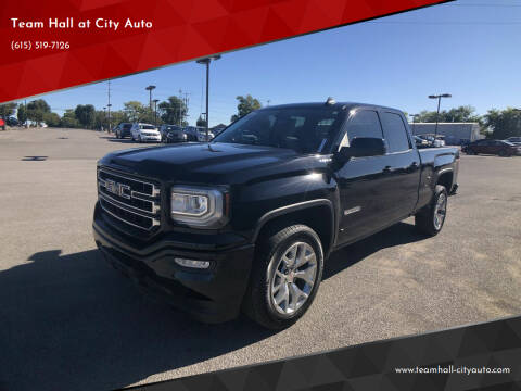 2017 GMC Sierra 1500 for sale at Team Hall at City Auto in Murfreesboro TN