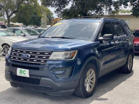 2016 Ford Explorer for sale at BC Motors in West Palm Beach FL