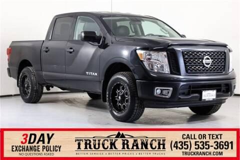 2017 Nissan Titan for sale at Truck Ranch in Logan UT