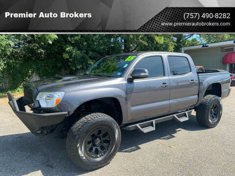 2015 Toyota Tacoma for sale at Premier Auto Brokers in Virginia Beach VA