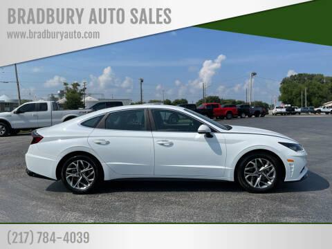 2020 Hyundai Sonata for sale at BRADBURY AUTO SALES in Gibson City IL