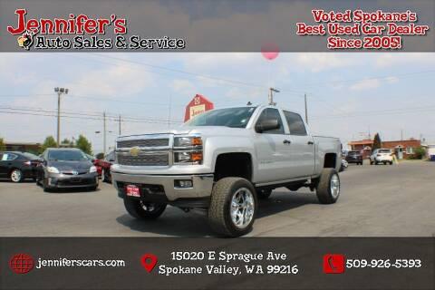 2014 Chevrolet Silverado 1500 for sale at Jennifer's Auto Sales in Spokane Valley WA