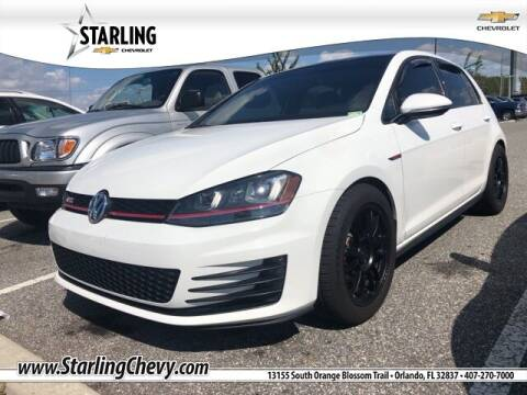2017 Volkswagen Golf GTI for sale at Pedro @ Starling Chevrolet in Orlando FL