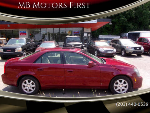 2006 Cadillac CTS for sale at MB Motors First in Meriden CT