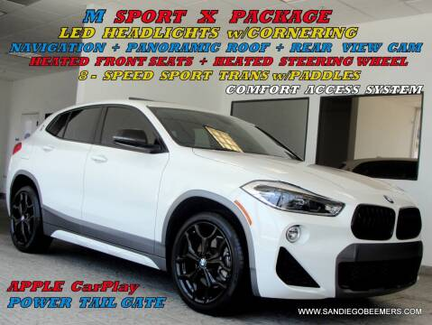 2018 BMW X2 for sale at SAN DIEGO BEEMERS in San Diego CA