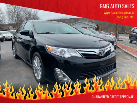 2013 Toyota Camry for sale at GMG AUTO SALES in Scranton PA