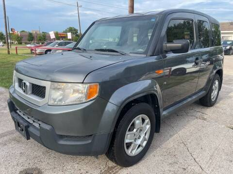 2009 Honda Element for sale at Texas Select Autos LLC in Mckinney TX