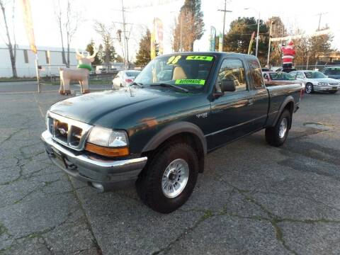 1998 Ford Ranger for sale at Gold Key Motors in Centralia WA