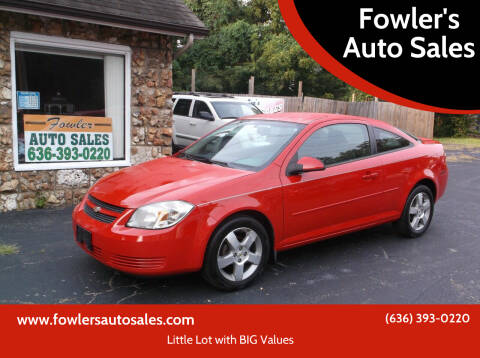 2010 Chevrolet Cobalt for sale at Fowler's Auto Sales in Pacific MO