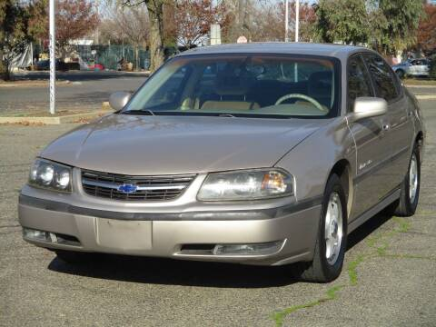 2002 Chevrolet Impala for sale at General Auto Sales Corp in Sacramento CA
