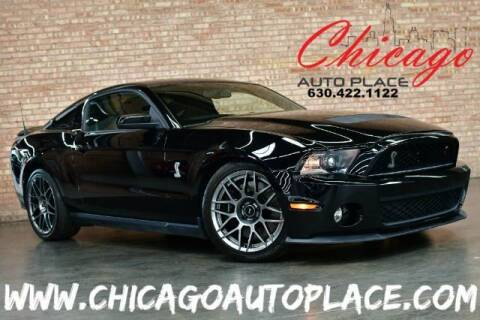 2012 Ford Shelby GT500 for sale at Chicago Auto Place in Bensenville IL