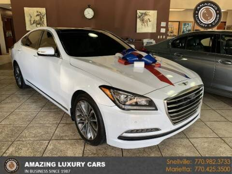 2016 Hyundai Genesis for sale at Amazing Luxury Cars in Snellville GA