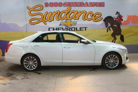2016 Cadillac CTS for sale at Sundance Chevrolet in Grand Ledge MI