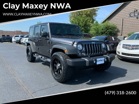 2017 Jeep Wrangler Unlimited for sale at Clay Maxey NWA in Springdale AR