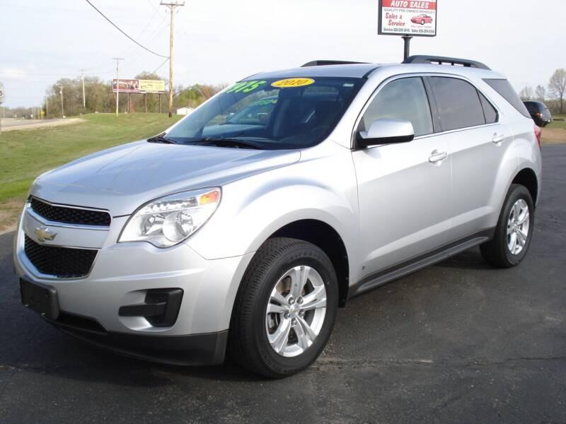 2010 Chevrolet Equinox for sale at Fox River Auto Sales in Princeton WI