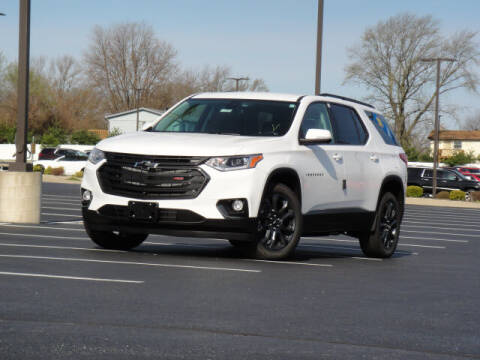 2021 Chevrolet Traverse for sale at Jack Schmitt Chevrolet Wood River in Wood River IL