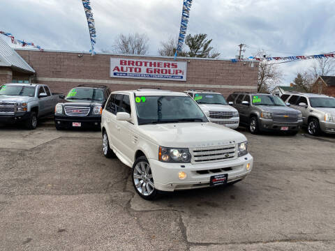 2009 Land Rover Range Rover Sport for sale at Brothers Auto Group in Youngstown OH
