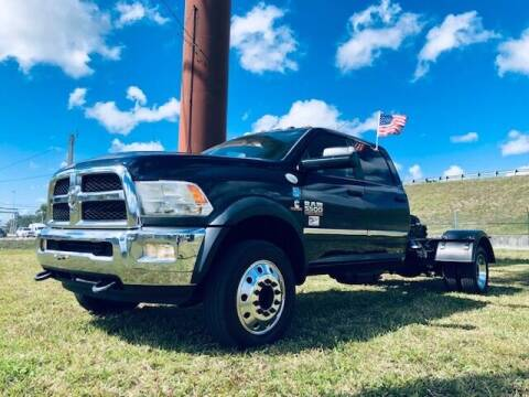 2016 RAM Ram Chassis 5500 for sale at Venmotors LLC in Hollywood FL