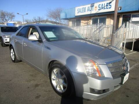 2008 Cadillac CTS for sale at Salem Auto Sales in Sacramento CA