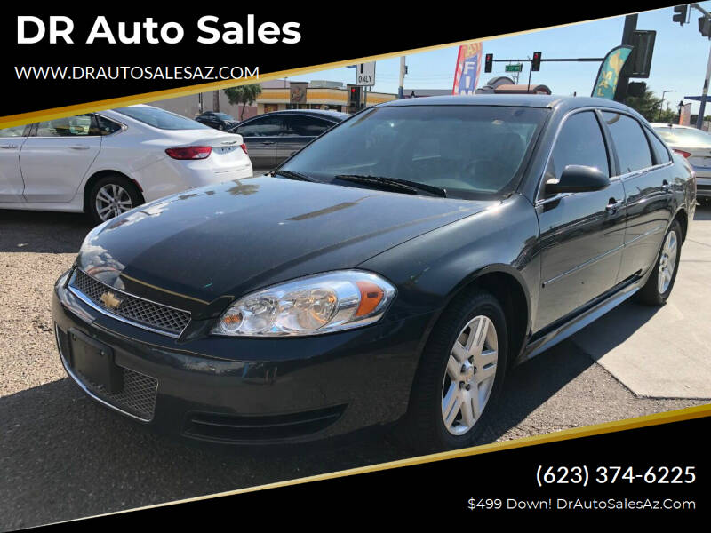 2013 Chevrolet Impala for sale at DR Auto Sales in Glendale AZ