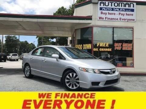 2010 Honda Civic for sale at Automan Auto Sales, LLC in Norcross GA