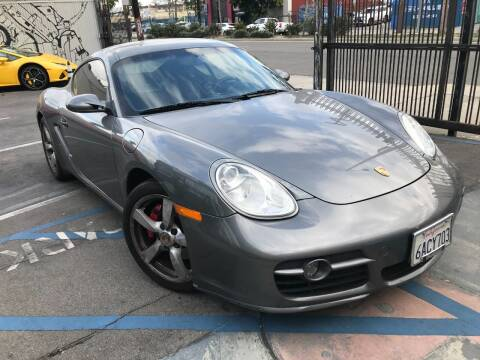 2007 Porsche Cayman for sale at Autobahn Auto Sales in Los Angeles CA