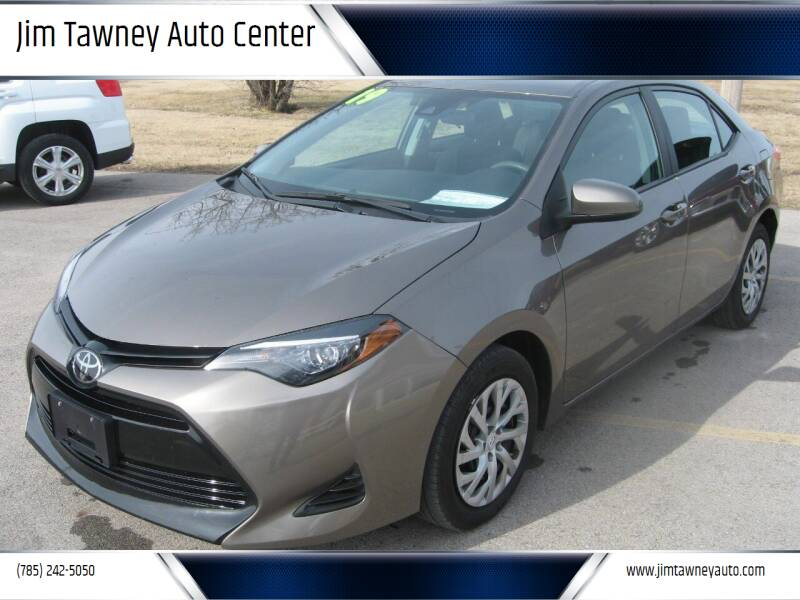 2019 Toyota Corolla for sale at Jim Tawney Auto Center Inc in Ottawa KS