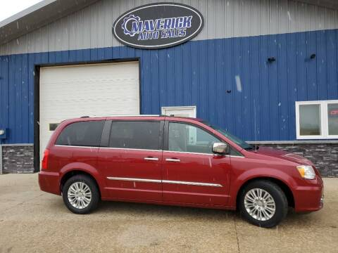 2012 Chrysler Town and Country for sale at Maverick Automotive in Arlington MN