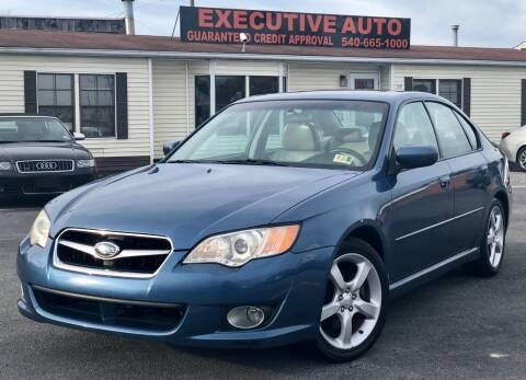 2008 Subaru Legacy for sale at Executive Auto in Winchester VA
