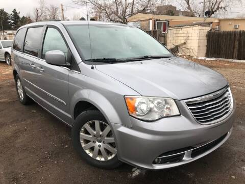 2013 Chrysler Town and Country for sale at 3-B Auto Sales in Aurora CO
