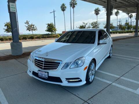 2013 Mercedes-Benz E-Class for sale at International Motors in San Pedro CA