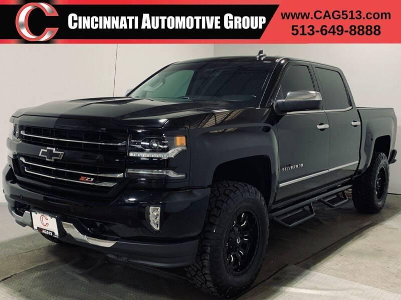 2018 Chevrolet Silverado 1500 for sale at Cincinnati Automotive Group in Lebanon OH