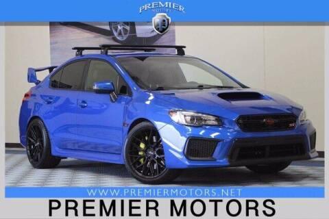2018 Subaru WRX for sale at Premier Motors in Hayward CA