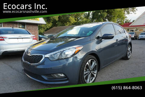 2016 Kia Forte for sale at Ecocars Inc. in Nashville TN