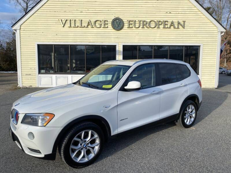 2011 BMW X3 for sale at Village European in Concord MA