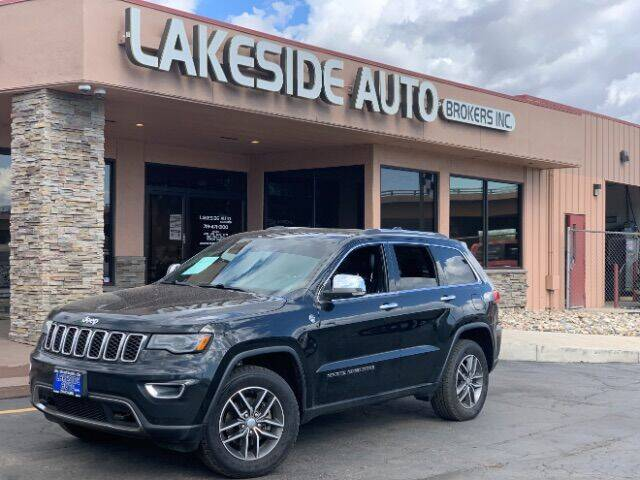 2017 Jeep Grand Cherokee for sale at Lakeside Auto Brokers Inc. in Colorado Springs CO