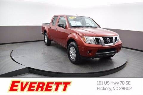 2016 Nissan Frontier for sale at Everett Chevrolet Buick GMC in Hickory NC