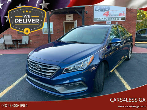 2017 Hyundai Sonata for sale at Cars4Less GA in Alpharetta GA