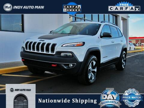 2017 Jeep Cherokee for sale at INDY AUTO MAN in Indianapolis IN