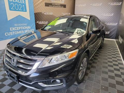 2013 Honda Crosstour for sale at X Drive Auto Sales Inc. in Dearborn Heights MI