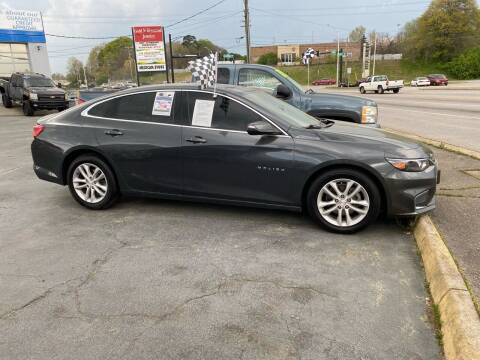 2018 Chevrolet Malibu for sale at Brian Jones Motorsports Inc in Danville VA