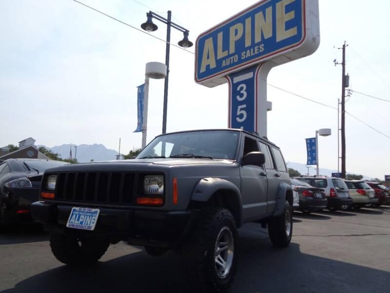 1999 Jeep Cherokee for sale at Alpine Auto Sales in Salt Lake City UT