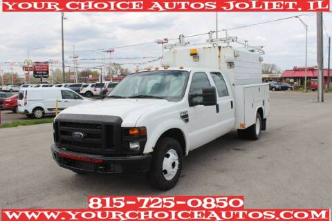 2008 Ford F-350 Super Duty for sale at Your Choice Autos - Joliet in Joliet IL